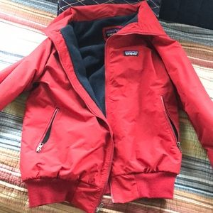 Red Patagonia, Fleece-Lined Jacket